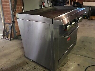 Thor Oven With 900mm Smooth Griddle, Natural Gas