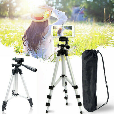 Portable Foldable Camera Camcorder Tripod Stand Holder Professional Aluminium