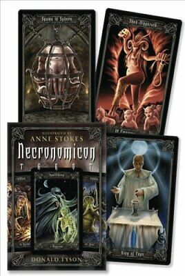 Necronomicon Tarot by Donald Tyson 9780738710860 | Brand New | Free UK Shipping