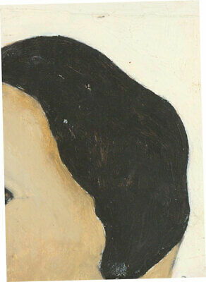 Ben Carrivick - Signed Contemporary Oil, Hairstyle Study