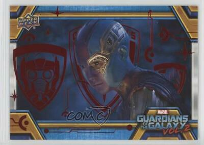 2017 Upper Deck Guardians of the Galaxy Volume 2 Red/49 #24 Alienated Card 2y5
