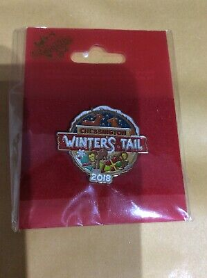Chessington World Of Adventures Winters Tail 2018 Pin Badge Brand New
