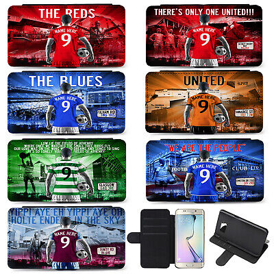 Football Samsung S8 S9 S9 Plus Case iPhone Cover Mens Personalised ALL TEAMS