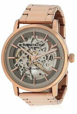 Kenneth Cole Rose Gold-Tone Stainless Steel Automatic Men's Watch KC50683006