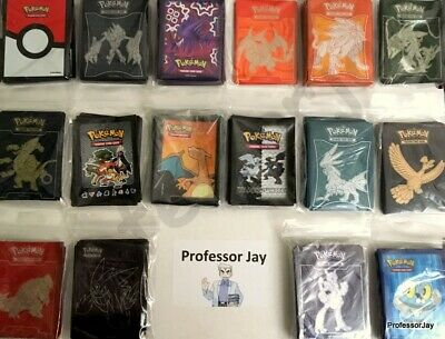 CUSTOMISE YOUR OWN ( 65 ) MIXED Pokemon Card Protection ULTRA PRO SLEEVES TCG