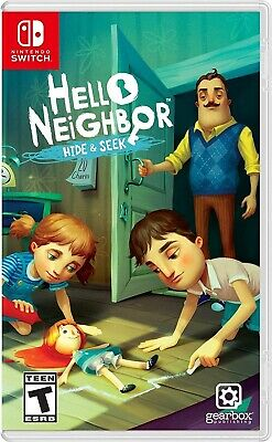 Nintendo Switch Video Game Hello Neighbor Hide And Seek Brand New And Sealed