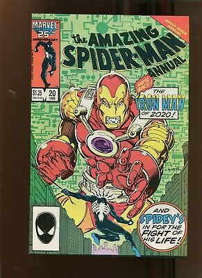 Amazing Spiderman Annual #20 (9.2) Man Of The Year! 1986