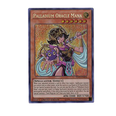 Palladium Oracle Mana TN19-EN004 Prismatic Secret Rare Limited