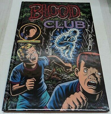 Blood Club Limited Edition Hardcover Signed By Charles Burns (Vf) Rare Ltd 1000