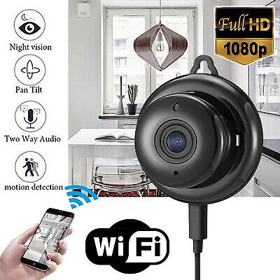 Mini IP Camera HD 1080P WiFi Home Security Cam Night Vision Motion Detection