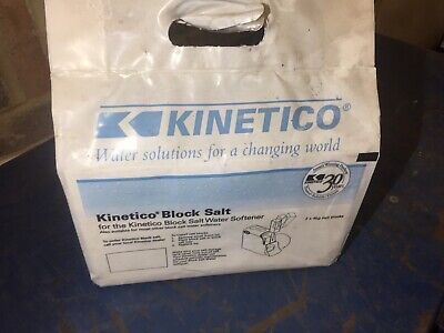 Kinetico Water Softener Block Salt