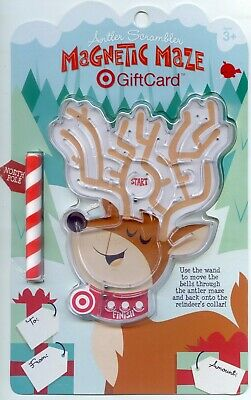 UNOPENED DAVE PERILLO TARGET ANTLER SCRAMBLER MAGNETIC MAZE TOY Gift Card
