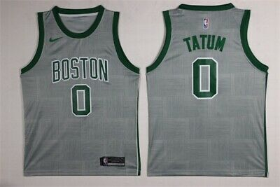 los angeles 2743c 971ab MENS #0 JAYSON Tatum Boston Celtics Stitched Swingman Jersey ...