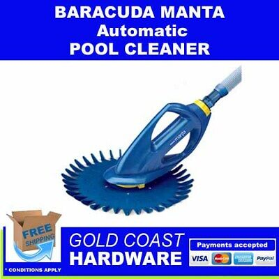 Baracuda Manta Automatic Pool Cleaner Made By Zodiac Barracuda 379 00 Picclick Au