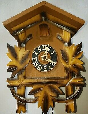 Hubert Herr Black Forest Cuckoo Clock -Works-