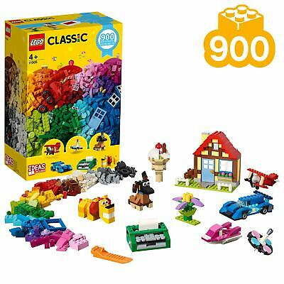 LEGO 11005 Classic Creative Fun 900 Piece Brick Box Toy Set With Ideas Included