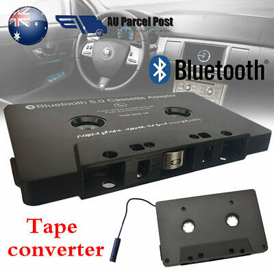 Bluetooth CAR AUDIO CASSETTE TAPE ADAPTER RECEIVER FOR IPHONE IPOD CD MP3 RADIO