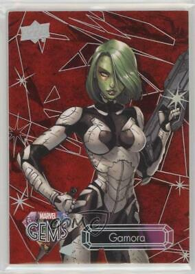 2016 Upper Deck Marvel Gems Ruby 87/99 Gamora #19 5ui