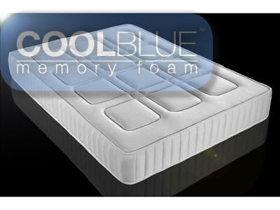 Touch Cool Blue Memory Foam Mattress - New Technology ***NEXT DAY DELIVERY***