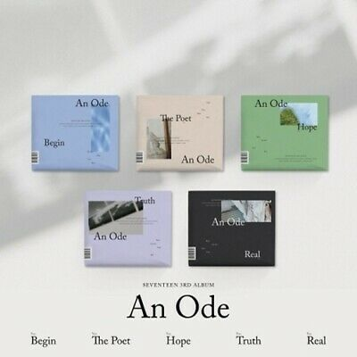 Seventeen - [An Ode] 3rd Album CD+Poster+PhotoBook+Mini Book+Card+Pre-Order+Gift