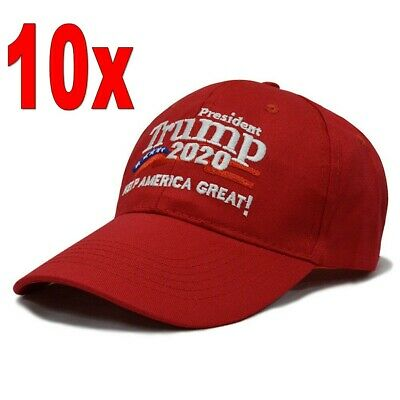 10 pieces of Trump 2020 to maintain the US presidential election cap red