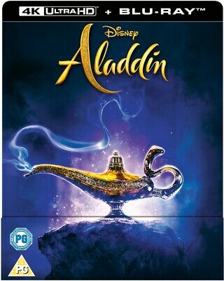 Aladdin 4K Ultra HD Steelbook And Blu-ray PREORDER New With Free Delivery!