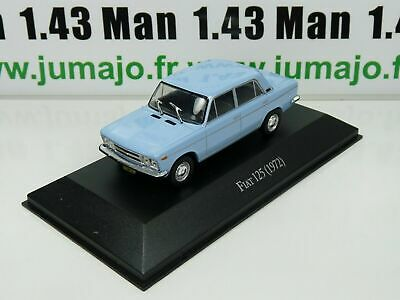 ARG21G Voiture 1/43 SALVAT Autos Inolvidables : Fiat 125 (1972)