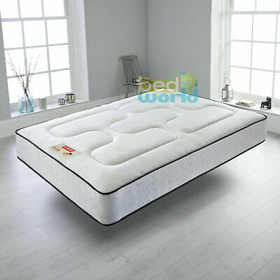 Semi Memory Foam Orthopeadic Spring Mattress 3ft single 4ft6 double 5ftking size
