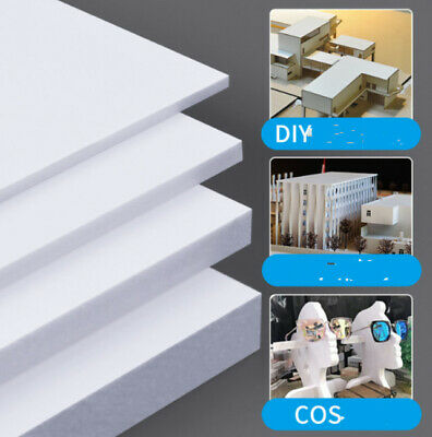 1 X PVC Foam Board Plastic Sheets Craft Thick 2-8mm Sand Table Model Material