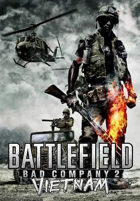Battlefield Bad Company 2 Vietnam DLC - PS3 Account Credentials Slot