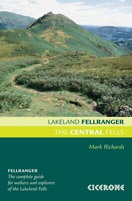 The Central Fells Walking guide to the Lake District 9781852845407 | Brand New