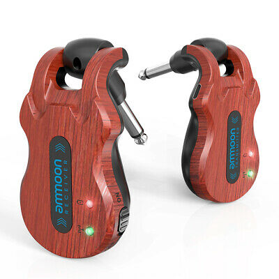 Ammoon 5.8G Wireless Guitar System Audio Digital Built-In Rechargeable Battery