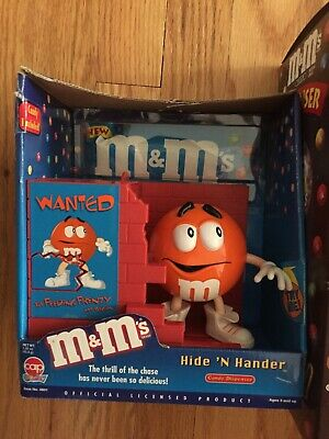 3 Lot M&Ms candy dispensers NEW in BOXES