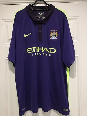 2014-15 Manchester City Third Shirt - 3XL
