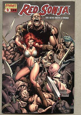 Red Sonja #4-2005 nm- Dynamite Variant cover Billy Tan
