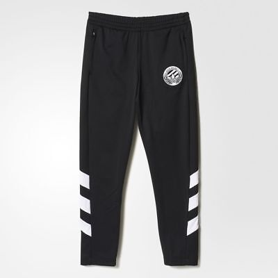 Adidas Boys Soccer Training Tracksuit Bottom Pants Exercise Running Sports Kids