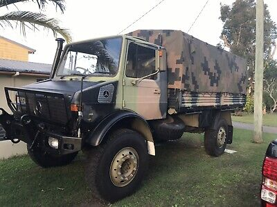 Unimog Mercedes-Benz,Rego,Log Book.Good Condition(Ex Army)