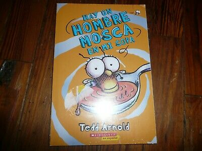 NEW lot of 3 FLY GUY Early Readers en ESPANOL HOMBRE MOSCA Tedd Arnold SPANISH