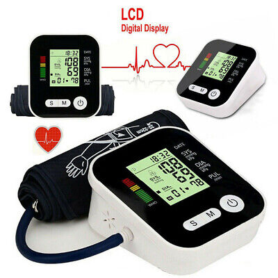 AUTOMATIC LCD DIGITAL Upper Arm Blood Pressure Monitor