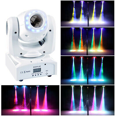 70W RGBW LED Gobo Moving Head Stage Light Pattern DMX512 Disco Party Projector