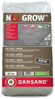Fugenmaterial TOP LOCK NO GROW Dansand 3-10mm 20 kg natur