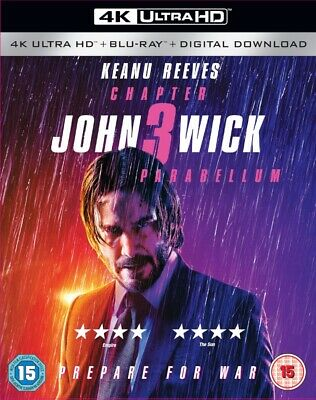 John Wick Chapter 3 Parabellum 4K Ultra HD - New With Free Delivery!