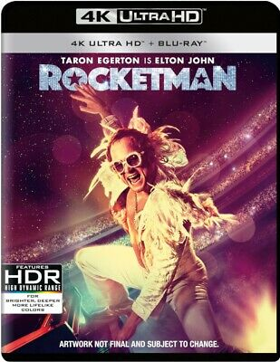 Rocketman 4K Ultra HD And Blu-ray New With Free Delivery!