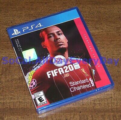 FIFA 20 CHAMPIONS Edition (PlayStation 4) BRAND NEW & SEALED soccer football ps4
