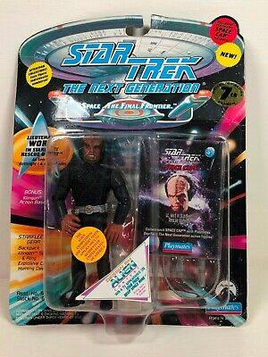WORF IN RESCUE OUTFIT FIGURE STAR TREK PLAYMATES 7th SEASON SEALED!