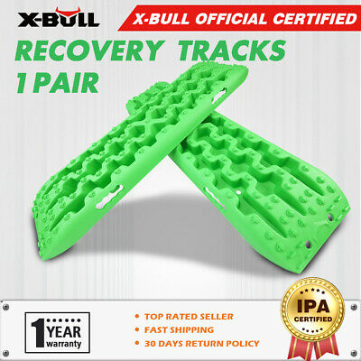 X-BULL Orange Recovery Tracks Sand Track With Carry Bag Offroad 2PC 10T 4WD