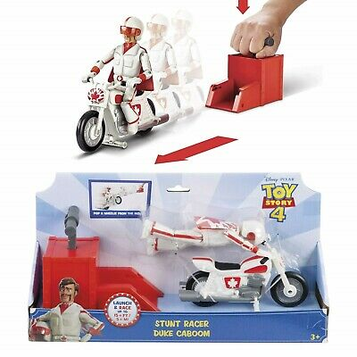 Toy Story 4 Stunt Racer Duke Caboom Bike and Figure Set Disney Pixar Toy New