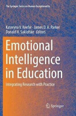 Emotional Intelligence in Education Integrating Research with P... 9783030080594