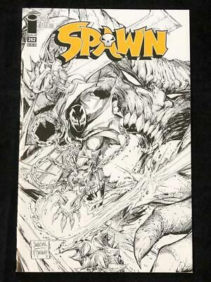 Spawn #262 Black And White Sketch Variant Image Comics VF-