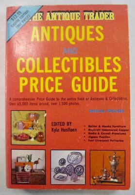 The Antique Trader Vintage Price Guide Book 1991 Kyle Husfloen Photographs (O)